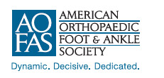 The American Orthopaedic Foot & Ankle Society logo
